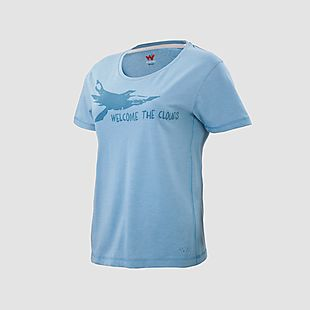 Wildcraft Women W Graphic Tee - Blue
