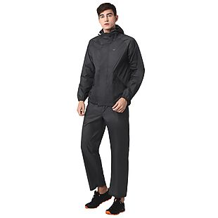 Wildcraft Hypadry Plus Unisex Rain Pant - Dark Grey