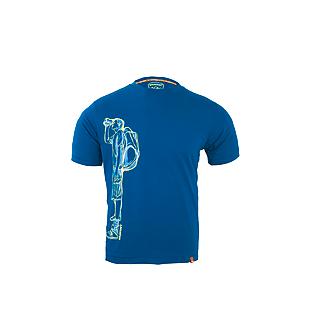 Wildcraft Men Crew T Shirt - Teal