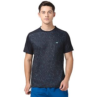 Wildcraft Men Poly Celestial Print T-shirt